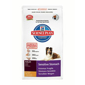 Hills Science Plan Sensitive Stomach Adult Cat Food with Chicken, Egg and Rice