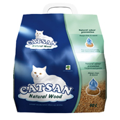 Natural Wood Non-Clumping Cat Litter 10ltr