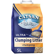 Catsan Ultra Effective Clay Clumping Cat Litter