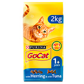 Go-Cat Adult Complete Cat Food with Tuna, Herring & Vegetables