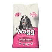 Wagg Sensitive Complete Dog Food with Chicken and Rice