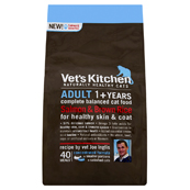 Vet's Kitchen Adult Cat Salmon and Brown Rice 3kg (Online Only)