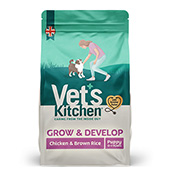 Vet's Kitchen Puppy Chicken and Brown Rice 1.3kg (Online Only)