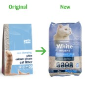 Lightweight Non-Clumping Ultra White Cat Litter