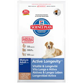 Hill's Science Plan Canine Mature Adult 7+ Active Longevity Medium with Lamb and Rice 7.5kg (Online Only)