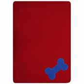 Red Fur Friend Fleecy Blanket (Online Only)