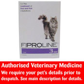 Fiproline spot on flea and tick treatment for cats