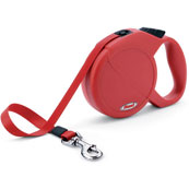 Red Classic Compact Extending Dog Lead