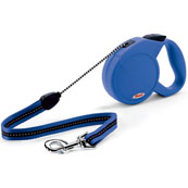 Blue Classic Long Extending Dog Lead