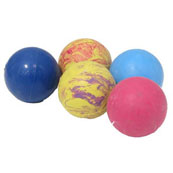 Solid Rubber Ball Dog Toy