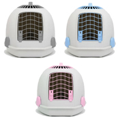 Hooded Cat Litter Tray and Carrier  (Online Only)