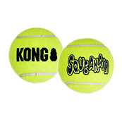 KONG Squeaker Tennis Ball