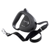 Flippy Tech Black Retractable Tape Lead