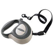 Flippy Controller Grey Retractable Tape Lead