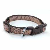 Chocolate and Cream Spot Collar