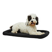 Black Basic Dog Crate Mattress