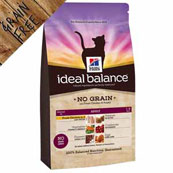 Hill's Ideal Balance Feline Adult No Grain with Chicken
