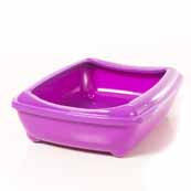 Rimmed Cat Litter Tray