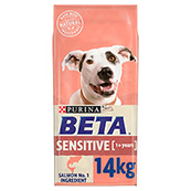 BETA Sensitive Dog Salmon and Rice