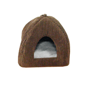 Jumbo Cord Igloo Cat Bed