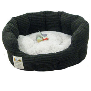 Jumbo Cord Oval Cat Bed
