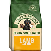James Wellbeloved Dog Food Lamb and Rice Senior Small Breed (Online Only)