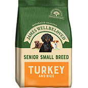 James Wellbeloved Dog Food Turkey and Rice Senior Small Breed (Online Only)