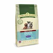 James Wellbeloved Dog Food Duck and Rice Senior Small Breed (Online Only)