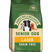 James Wellbeloved Dog Food Grain Free Lamb Senior (Online Only)