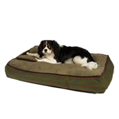 Wainwright's Green Check Dog Mattress
