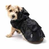 House of Paws Black Dog Raincoat (Online Exclusive)