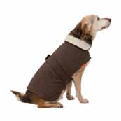 House of Paws Brown Tweed Dog Coat (Online Exclusive)