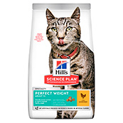 Hill's Science Plan Cat Food Adult Perfect Weight with Chicken