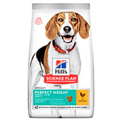 Hill's Science Plan Dog Food Adult Perfect Weight Medium with Chicken