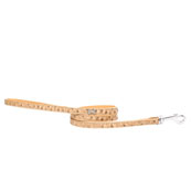 Diamonte Bone Ostrich Lead in Beige