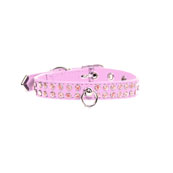 Jewel Dog Collar in Pink