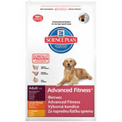 Hill's Science Plan Advanced Fitness Large Breed Adult Dog Food with Chicken 3kg