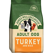 James Wellbeloved Adult Complete Dog Food with Turkey & Rice