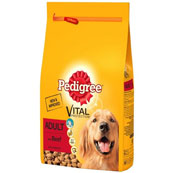 Pedigree Adult Complete Dog Food with Beef
