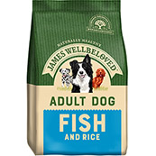 James Wellbeloved Adult Complete Dog Food with Fish & Rice