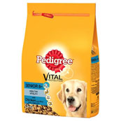 Pedigree Senior Complete Dog Food with Chicken