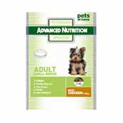Advanced Nutrition Small Breed Dog Food with Chicken