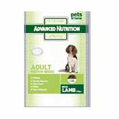 Advance Nutrition Dog Food With Lamb