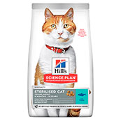 Hills Science Plan Feline Adult Sterilised Cat Food with Tuna