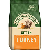 James Wellbeloved Complete Kitten Food with Turkey