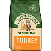 James Wellbeloved Complete Senior Cat Food with Turkey
