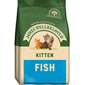 James Wellbeloved Complete Kitten Food with Fish