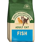 James Wellbeloved Complete Adult Cat Food with Fish