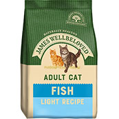 James Wellbeloved Complete Light Adult Cat Food with Fish  (Online Only)