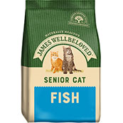 James Wellbeloved Complete Senior Cat Food with Fish